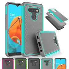 For LG K51 /LG Q51 / LG Reflect Shockproof Hybrid Rugged Rubber Combo Case Cover
