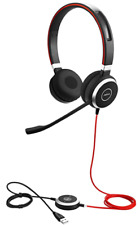 New listing Jabra Evolve 40 Professional Wired Headset, Stereo – Telephone Headset Hsc017
