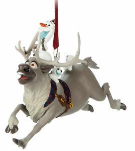 Disney Parks Olaf and Sven Figural Ornament - Frozen