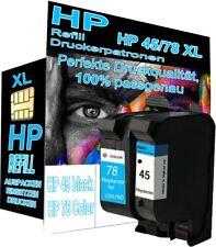 Druckerpatronen Refill für HP Nr 45 + 78 OfficeJet G55 G85 G95