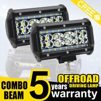 688W Projecteur Phare de Travail LED 5 Inch Feux Antibrouillard 2PCS Nouveau