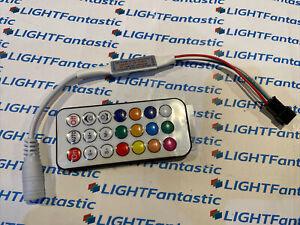 5-24V RF 'Dream Colour' Wireless Remote Controller WS2811 LED Tape, 2048 Pixels