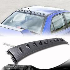 Carbon Fiber Style Shark Fin Rear Roof Spoiler For 02-07 Mitsubishi Lancer EVO