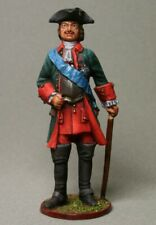 Painted Tin Toy Soldier Peter the Great 54mm 1/32