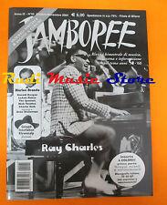 rivista JAMBOREE 45/2004 Ray Charles Marlon Brando Spaniels Deke Dickerson No cd