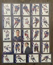 New listing 24 Card LOT 95-96 Parkhurst 1966-67 Design New York Rangers Hockey Andy Bathgate