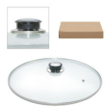 Glass Lids Saucepans Tempered Glass Casseroles Frying Pans 16cm to 36cm