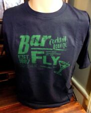 Old Navy Men's Medium Graphic T-Shirt Bar Fly Cocktail Lounge Navy