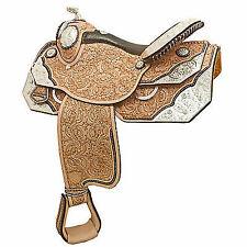 Tex Tan Silver Champion Show Saddle 16in
