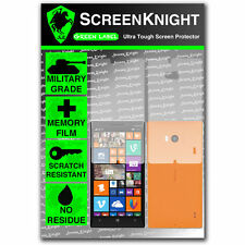 ScreenKnight Nokia Lumia 930 FULL BODY SCREEN PROTECTOR invisible shield