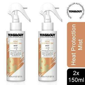 2 Pack Toni & Guy  230 Degree Celsius Heat Protection Mist, 150 ml