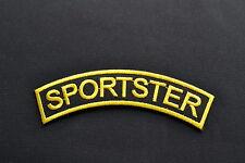 Sportster Patch Aufnäher Aufbügler Iron On 1000  883 1200 1100 Harley Evolution