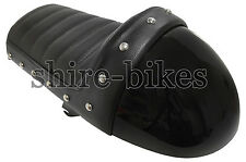 Black Cafe Racer Seat suitable for use with Monkey Bike Motorcycles