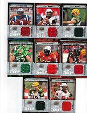 2015 Upper Deck CFL Football Game Jersey GJ-JB John Bowman Montreal Alouettes