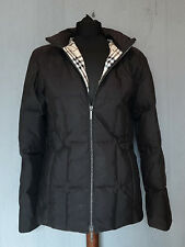 Burberry London Quilted Down Jacket Women's Size 36 Nova Check