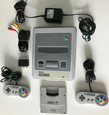 SNES SUPER NINTENDO console, 2 Org. Controller + SUPER GAME BOY ADATTATORE TOP!!!