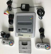 SNES Super Nintendo Konsole , 2 org. Controller + Super Game Boy Adapter