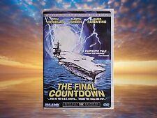 The Final Countdown DVD Very Good Condition Kirk Douglas Martin Sheen