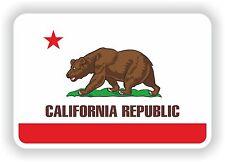 Etiqueta Bandera De California Para Nevera Libro Bicicleta Pc Barco Casco Moto Tablet