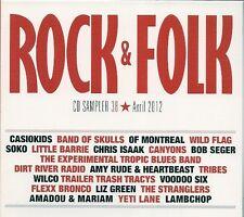 CD COMPIL 22 TITRES--ROCK & FOLK--SOKO/CANYONS/CASIOKIDS/STRANGLERS/SEGER/WILCO