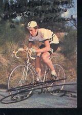 JEAN TOSO cyclisme cp vélo cycling dédicace PEUGEOT 70s
