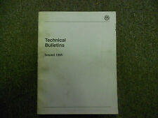 1995 VW Technical Bulletins ALL MODELS Service Shop Manual BOOK 95 FACTORY OEM
