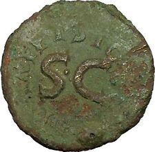 AUGUSTUS Licinius Stolo Moneyer Dupondius Rare 17BC Ancient Roman Coin i39790