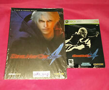 DEVIL MAY CRY 4 EDITION STEELBOOK COLLECTOR XBOX 360 NEUF + GUIDE OFFICIEL