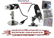 LED MICROSCOPIO FOTOCAMERA DIGITALE USB 500X + SUPPORTO OFFERTA