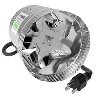 """6"""" Duct Booster Inline Blower Vent Fan Venting Exhaust Air Cooling Basements"""