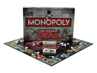 THE WALKING DEAD MONOPOLY COLLECTORS EDITION NEW 6 X COLLECTIBLE METAL TOKENS