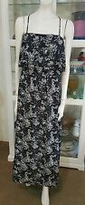 Jeans West boho maxi dress.Sz10.Liberty floral.Elaticised top x waist.Fully line