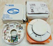 ECO 1003 Photoelectric Optical Smoke Detector & ECO 1000 Relay Base Ref 605382