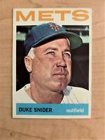 1964 Duke Snider Topps Baseball Card #155 (Original)