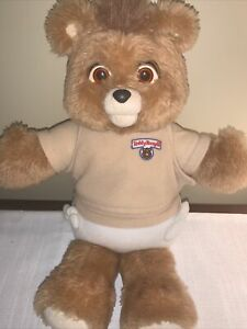RARE ORIGINAL 1987 BABY TEDDY RUXPIN WORLDS OF WONDER ALCHEMY WORKS!