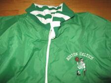 Vintage Rare Champion BOSTON CELTICS Ball Boy Embroidered (MED) Lined Jacket GRN