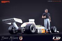 1:18 Bruce McLaren figurine VERY RARE !!! NO CARS !! for diecast cars