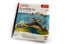 VINTAGE-NUOVO e SIGILLATO-software Adobe Acrobat 5.0, versione di aggiornamento, per Mac