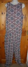 Only lightweight graphic paisley print boho jumpsuit UK 14  BNWT