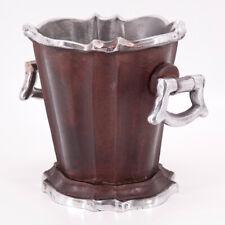 PTMD Aluminium Sektkühler Flaschenkühler Weinkühler Eiseimer Eiswürfelbehälter