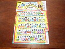Alphablocks figure foam letters toy playset Cbeebies magazine stickers EYFS NEW