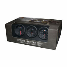 GlowShift  Black-7-Color-Diesel-Gauge-Set-60-Boost-2400-Pyrometer-EGT-Trans-Temp