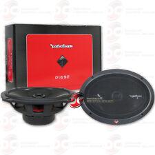 "ROCKFORD FOSGATE P1692 6"" x 9"" 2-WAY CAR AUDIO COAXIAL SPEAKERS (PAIR)"