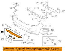 LAND ROVER OEM 14-17 Range Rover Sport Front Bumper-Lower Cover LR095427
