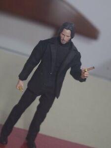 Pre-order 1/12 METOYS Body & Black Suit John Wick Custom Kit For Mezco