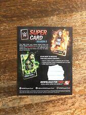 WWE 2k20 Super Card Season 5 QR Code
