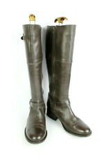 Bottes LA REDOUTE CREATION Cuir Marron T 40 / UK 6.5 TRES BON ETAT