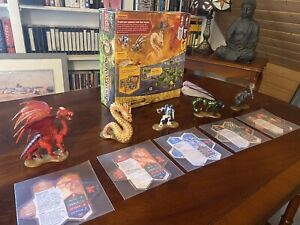 Heroscape Aquilla's Alliance Heroes of Quagmire including Box Extremely Rare