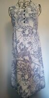 Vintage A Line Dress Size 12. By Laura Lee . 100% Terylene. Lined,