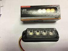 """8891132 BUYERS PRODUCTS LED DUAL COLOR STROBE, 4.75 LENGTH X 1.00"""" X 1.00"""" 12 VO"""